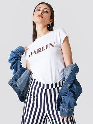T-shirts - NA-KD Darlin' Tee vit