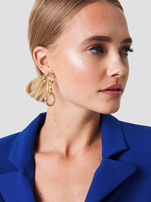 NA-KD Accessories smycke Connected Rope Earrings