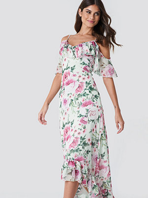 Trendyol Asymmetric Floral Maxi Dress
