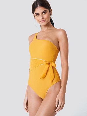 Trendyol Waist Knot Swimsuit - Baddräkter