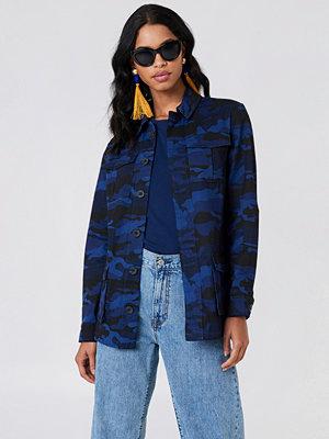 NA-KD Army Jacket blå