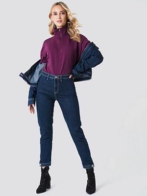 NA-KD Zipper Sweatshirt