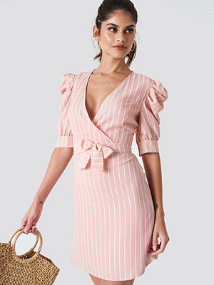 Trendyol Ballon Sleeve Midi Dress - Midiklänningar