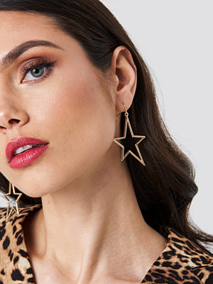 NA-KD Accessories smycke Hanging Star Earrings