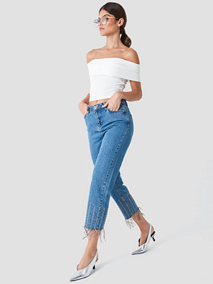 Trendyol Detailed High Waisted Jeans