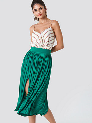 Trendyol Pleated Midi Skirt