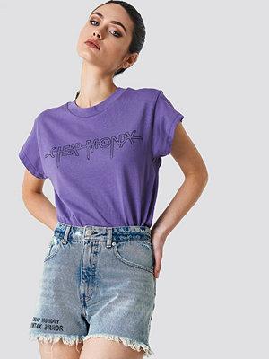 Shorts & kortbyxor - Cheap Monday Donna Shorts Pixel Blue