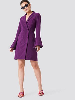 Trendyol Trumpet Sleeve Blazer Dress - Festklänningar