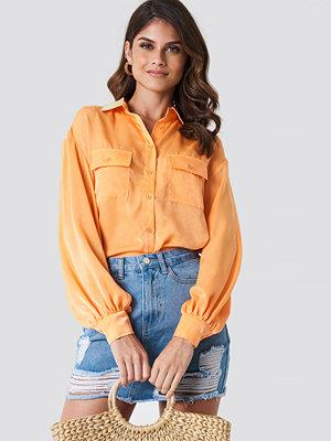 Andrea Hedenstedt x NA-KD Ballon Sleeve Shirt