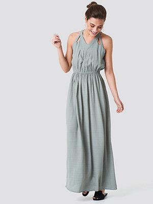 Rut & Circle Hip Long Dress - Långklänningar