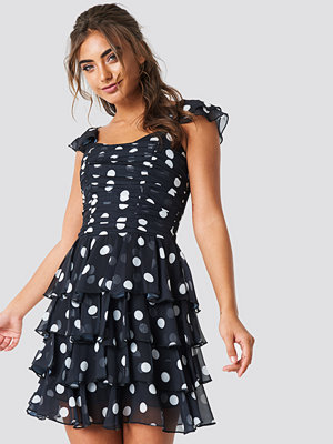 Trendyol Dotted Mini Dress - Festklänningar