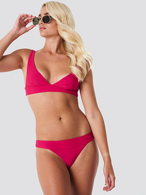 NA-KD Swimwear Wide Strap Bikini Panty rosa