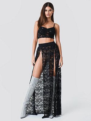 Sahara Ray x NA-KD Lace Maxi Skirt - Maxikjolar