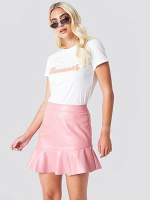 Rut & Circle Frill Pu Skirt