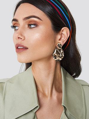 NA-KD Boho Structured Drop Back Earring - Smycken