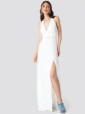 Trendyol Waist Buckle Slit Maxi Dress - Maxiklänningar