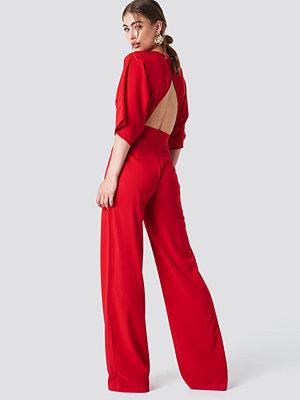 Trendyol Open Back Jumpsuit