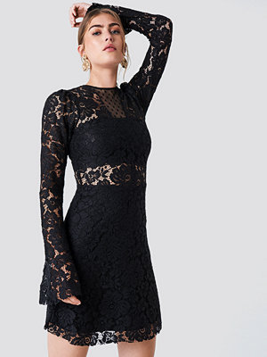 Trendyol Trumpet Sleeve Lace Mini Dress