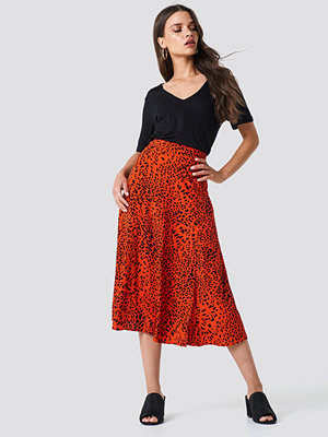Gestuz Loui Skirt röd multicolor