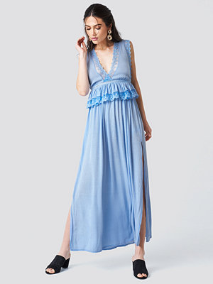 Trendyol Slits Maxi Dress blå