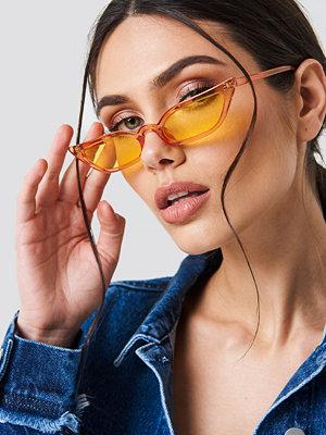 NA-KD Urban Pointy Edge Retro Sunglasses - Solglasögon