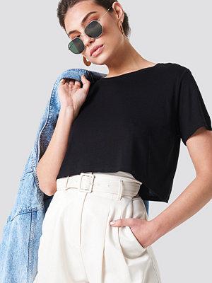 T-shirts - NA-KD Basic T-Shirt svart