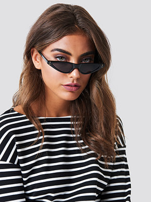 NA-KD Accessories Small Cat Eye Sunglasses - Solglasögon