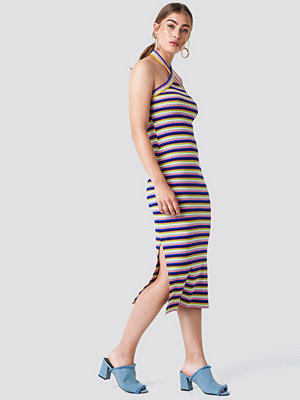 Trendyol Striped Midi Dress - Festklänningar