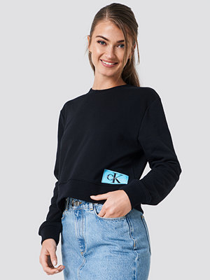 Calvin Klein Monogram Logo Badge Sweatshirt