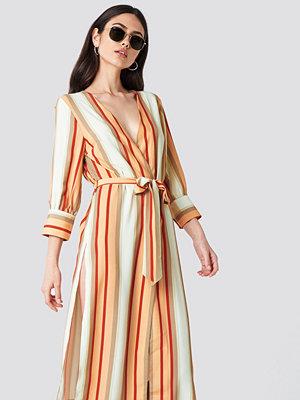 Trendyol Striped Kimono - Kaftan