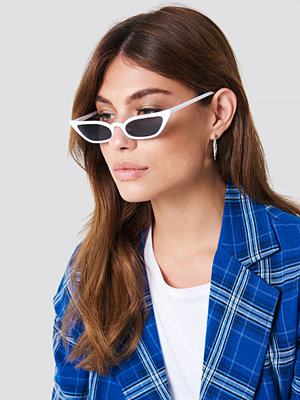 NA-KD Accessories Pointy Edge Retro Sunglasses - Solglasögon