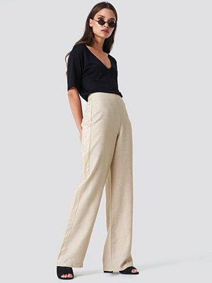Trendyol Side Panel Loose Pants - Byxor omönstrade