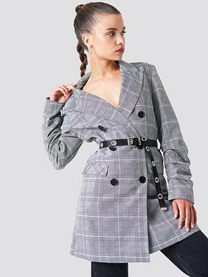 Bälten & skärp - NA-KD Accessories Slim Eyelet Belt - Bälten och skärp