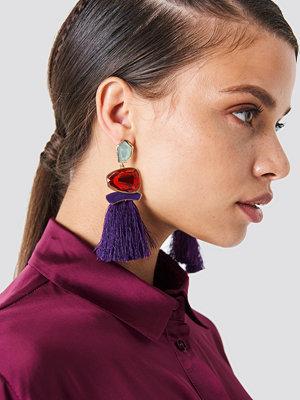 Trendyol Stone Tassel Earrings - Smycken