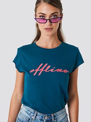 T-shirts - NA-KD Offline Tee blå