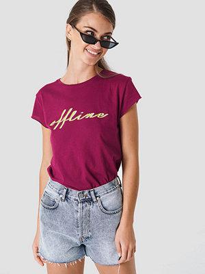 T-shirts - NA-KD Offline Tee lila