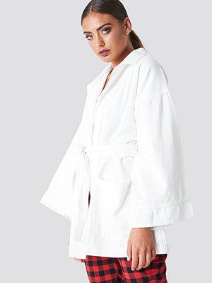 NA-KD Trend Denim Kimono - Vardag