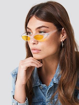 NA-KD Accessories Slim Retro Cateye Sunglasses - Solglasögon