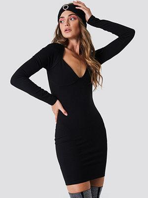 Galore x NA-KD Bolero Dress svart