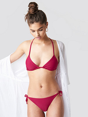 NA-KD Swimwear Triangle Panty rosa