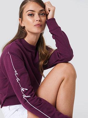 NA-KD Urban Branded Sweatshirt