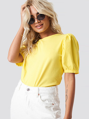 Trendyol Balloon Arm Detailed Tee gul
