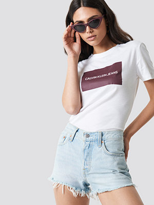 Calvin Klein Institutional Box Slim Fit Tee vit
