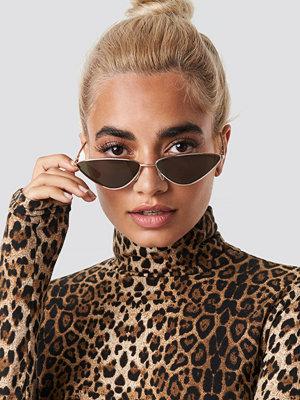 Solglasögon - Statement By NA-KD Influencers Nina Groer Metal Cateye Sunglasses - Solglasögon