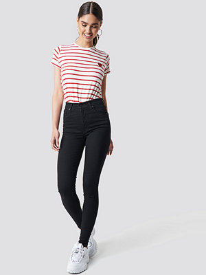 Levi's Mile High Super Skinny Black Galaxy svart