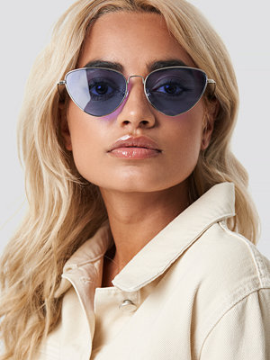 NA-KD Accessories Colored Cateye Sunglasses lila