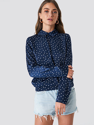 NA-KD Front Cut Out Dotted Top