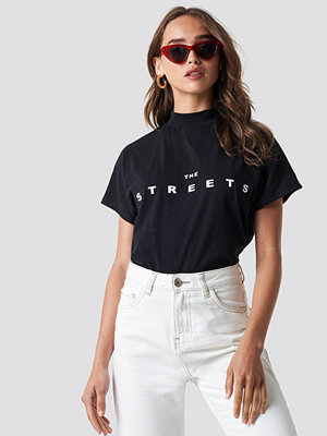 NA-KD Trend Streets Cap Sleeve Top