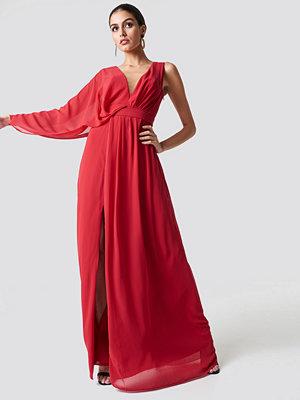Trendyol One Sleeve Maxi Dress - Maxiklänningar