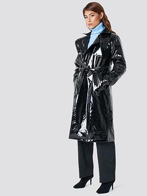 NA-KD Trend Patent Long Jacket - Kappor